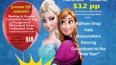 Ring in the New Year with Anna and Elsa from Frozen