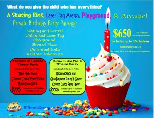 Private Birthday Party Tues or Wed