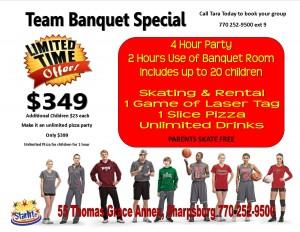 team banquet special