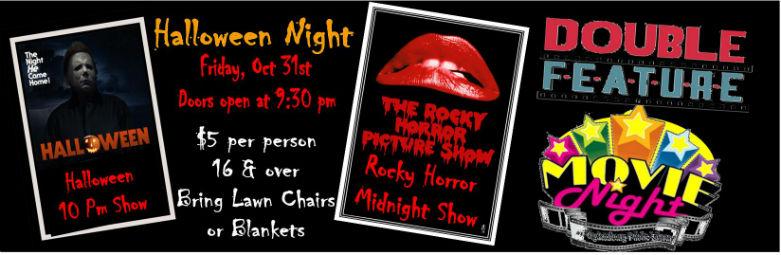 Halloween Movie Night at Starlite of Sharpsburg