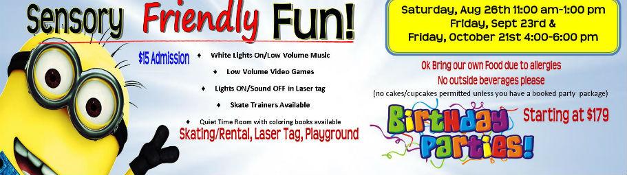 sensory friendly fun slider