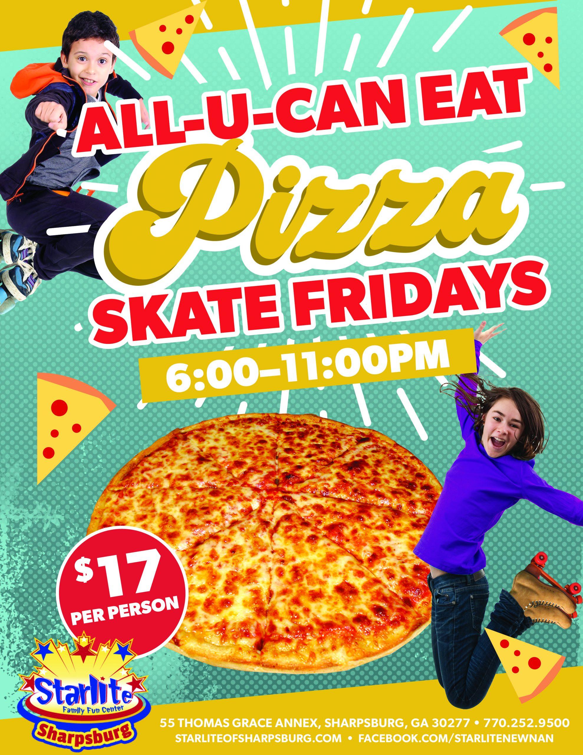 GA21-009 All You Can Eat Pizza Flyer-Sharpsburg