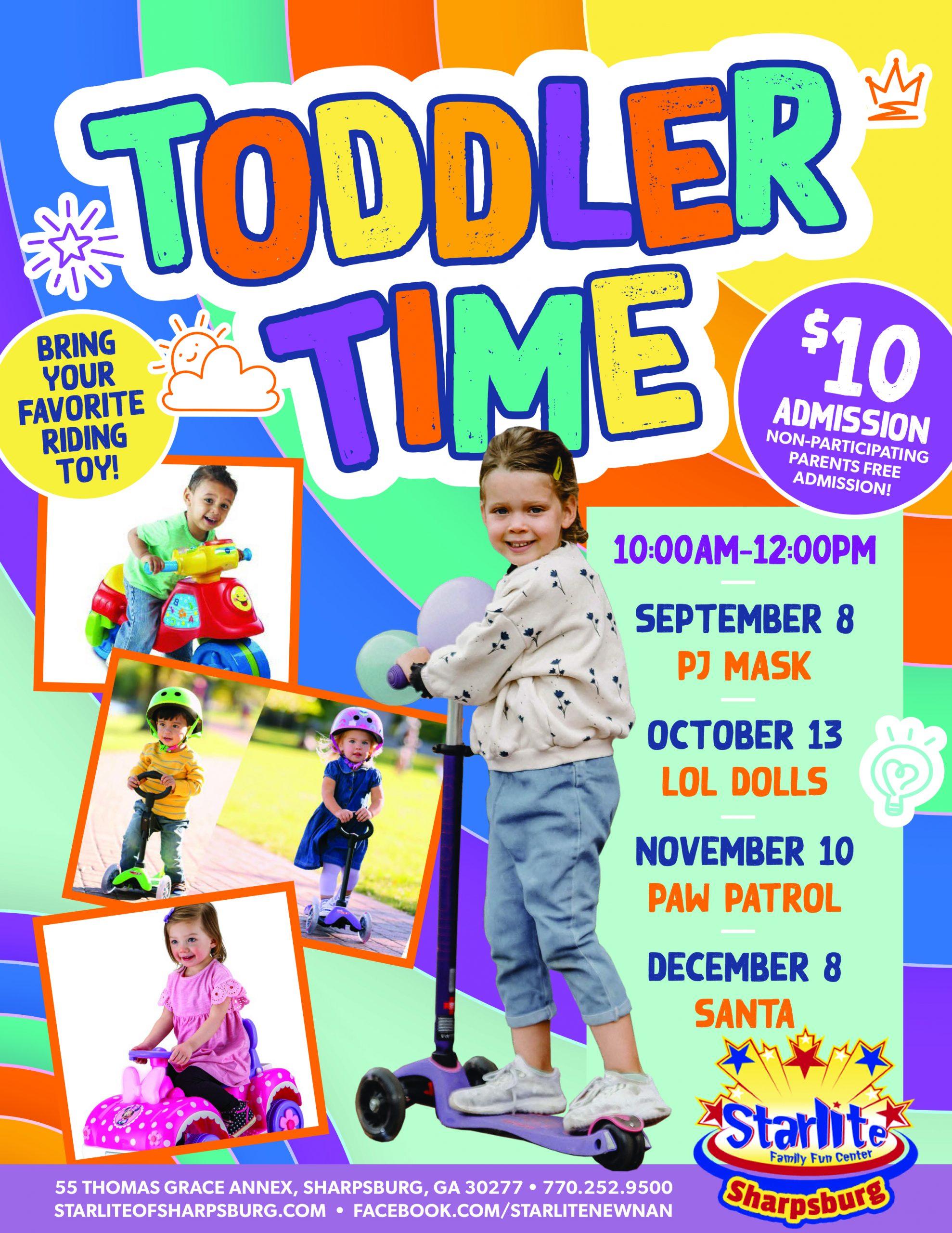 GA21-021 Toddler Time Flyer-Sharpsburg