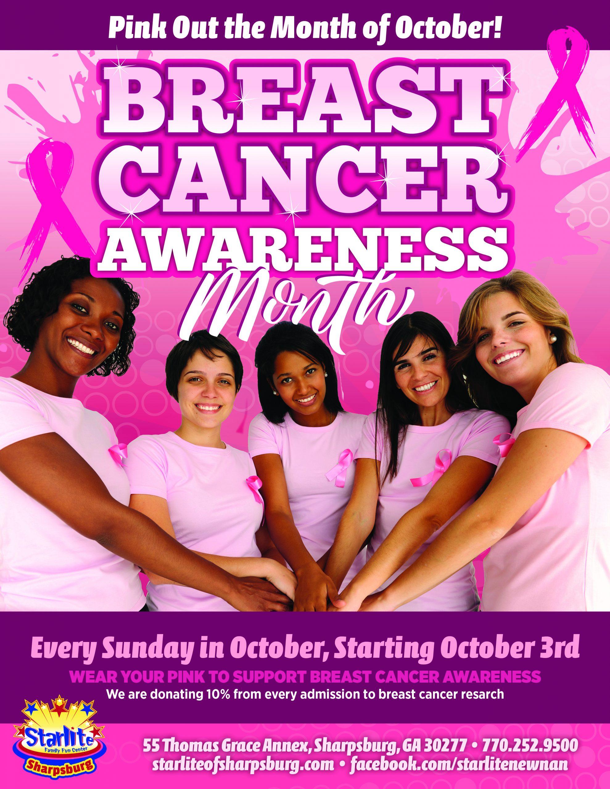 GA21-022 Breast Cancer Awareness Month Flyer-Sharpsburg