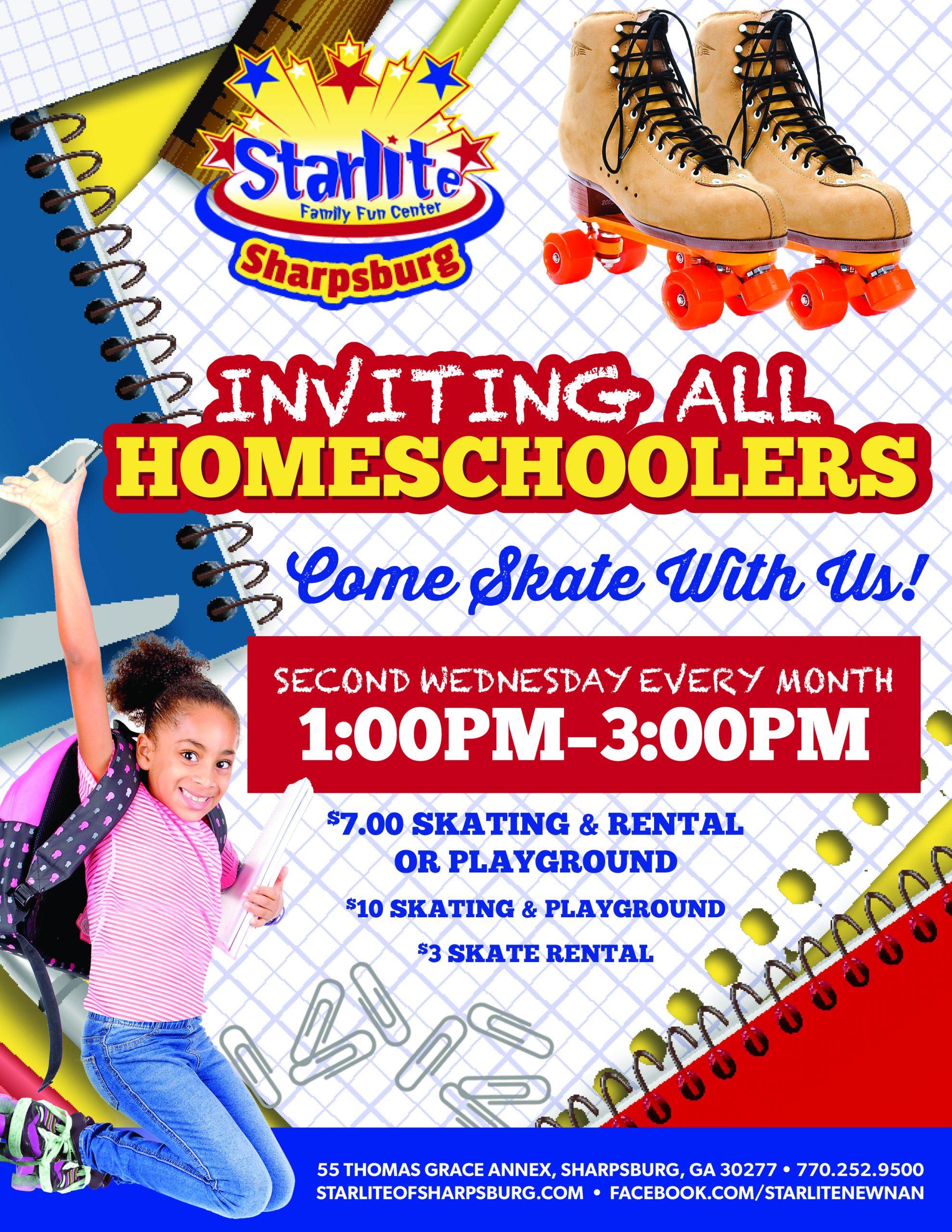 GA21-023 Homeschooler Skate Flyer-Sharpsburg
